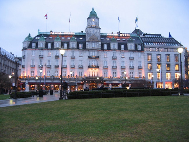 Sleep in Style at Oslo's Grand Hotel