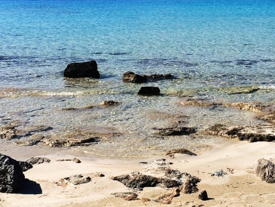 Sit Back at one of Greece's Undiscovered Beaches Elafonisos  Greece