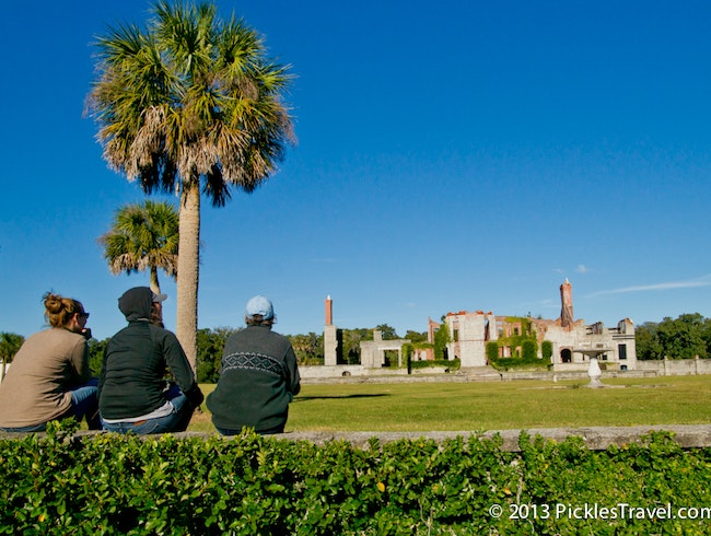 Stroll Cumberland Island & celebrate sunset at Dungeness Ruins