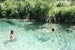 Swimming in Korana River (Plitvice Lakes)