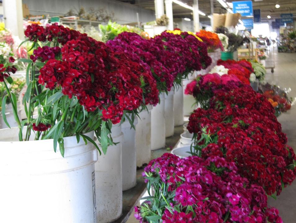Flower Market in Carlsbad CA Carlsbad California United States