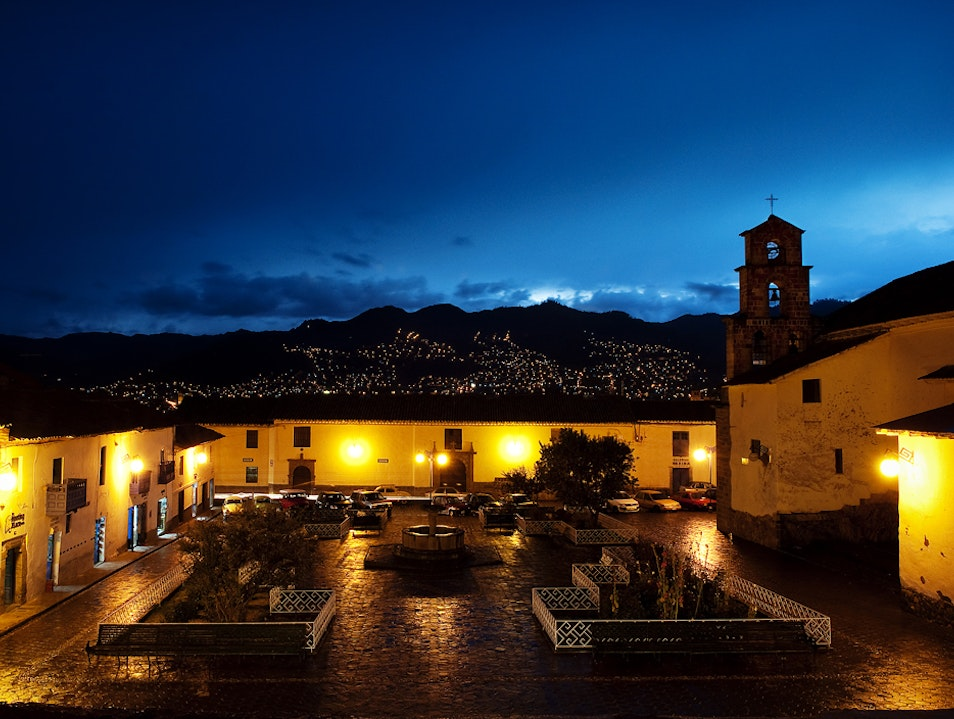 Cusco Sunset Urubamba  Peru