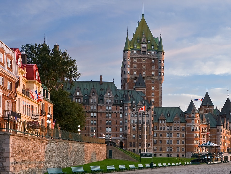 Dufferin Terrace and Fairmont Le Château Frontenac