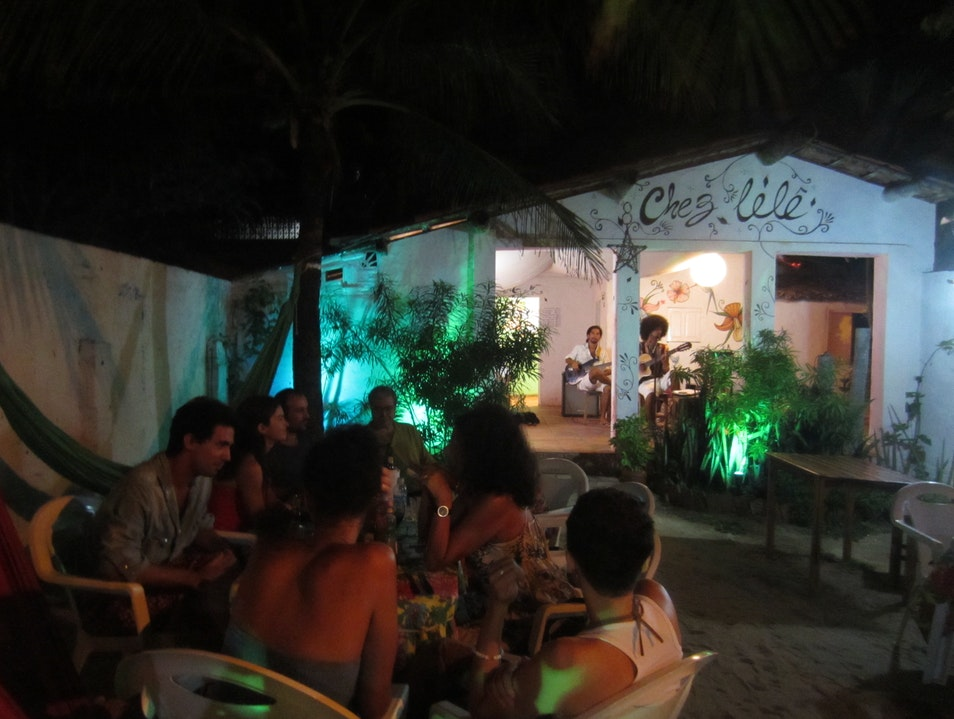 Hidden gem for nightlife in Canoa Quebrada Aracati  Brazil