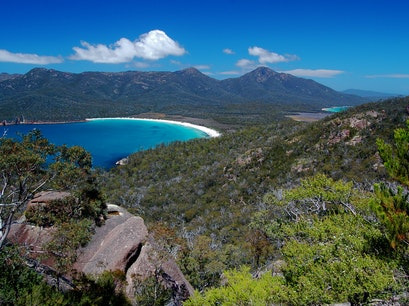 Wineglass Bay Freycinet  Australia