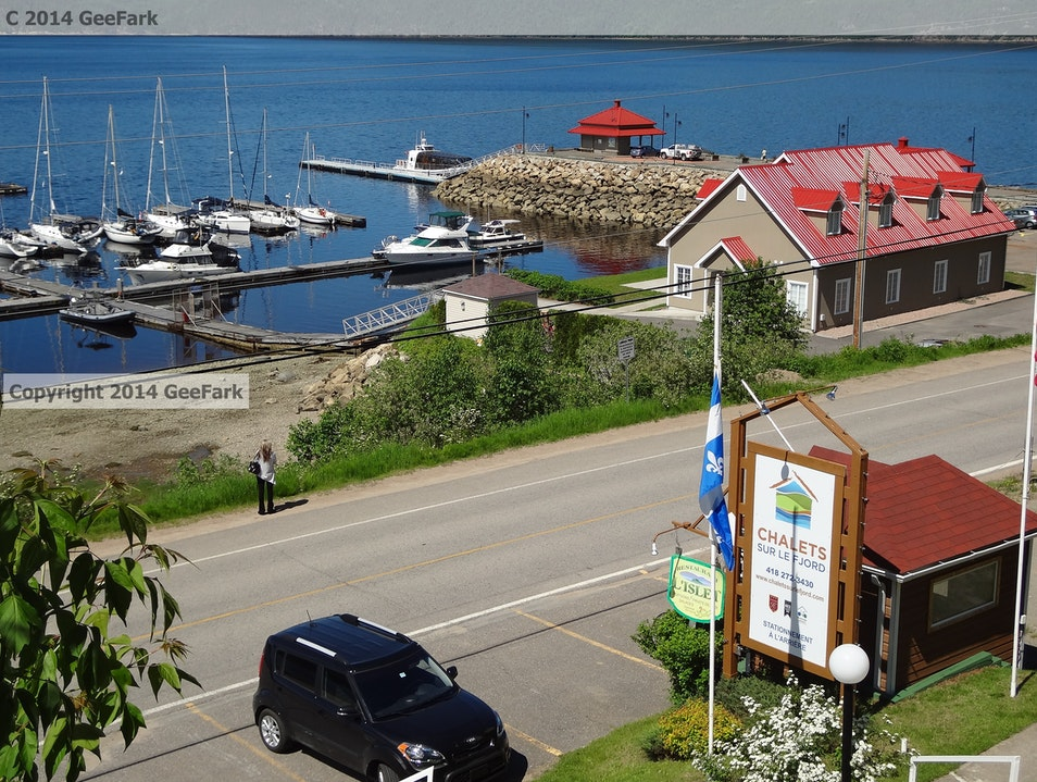 Trout is the Treat in L'Anse Saint Jean, Quebec L'anse Saint Jean  Canada