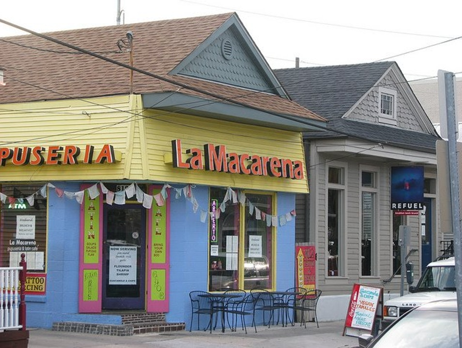 Brunch at Local Favorite La Macarena New Orleans Louisiana United States