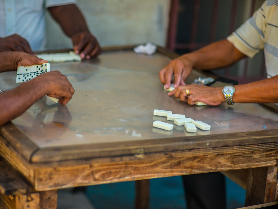 Watch a Game of Dominoes, Panama City, Panama Panama City  Panama