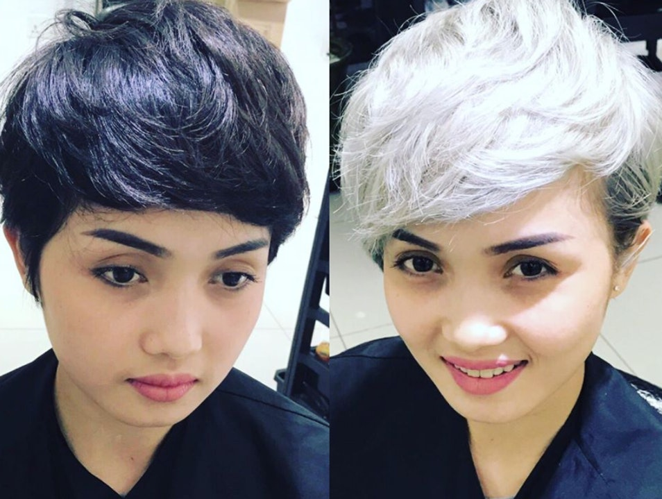 A new color or cut at Toni & Guy Salon Phnom Penh  Cambodia
