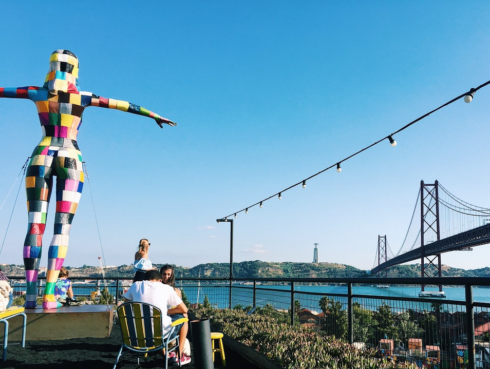 One of the chillest roofop vibes in Lisbon Lisbon  Portugal