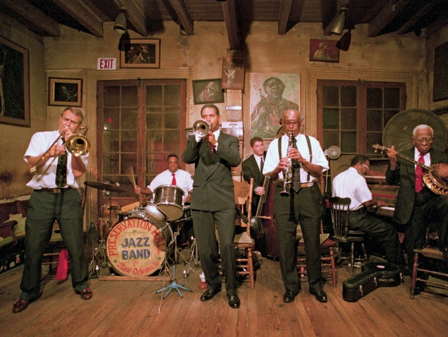 Hot jazz at historic Preservation Hall