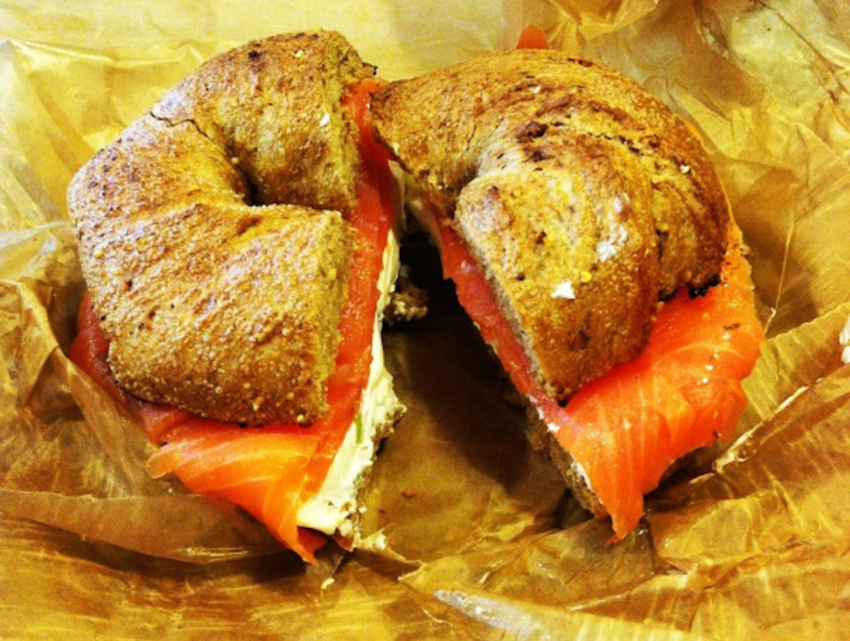 Brooklyn Bagels in Queens Long Island City New York United States