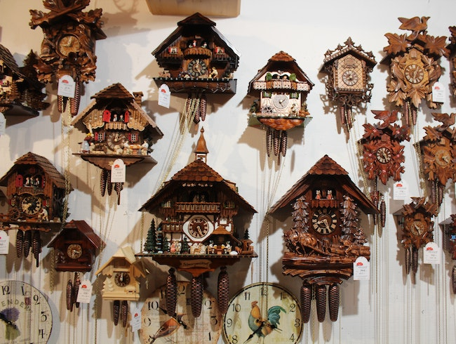 Cuckoo Clocks from Lake Titisee