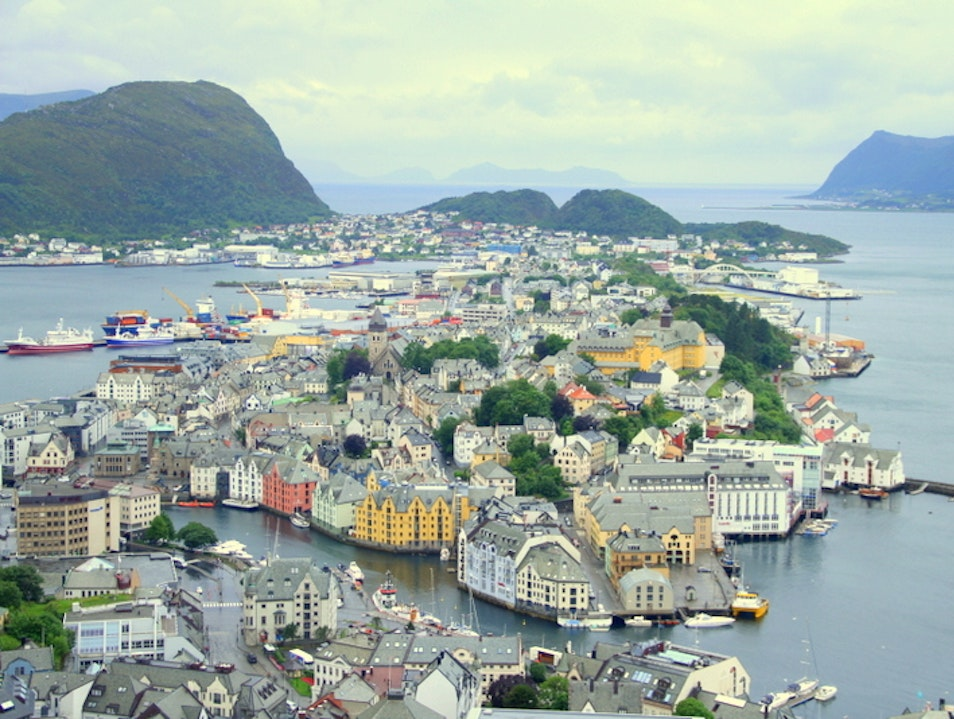 From Ashes to Art Nouveau Alesund  Norway