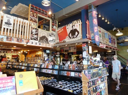 Easy Street Records & Cafe Seattle Washington United States