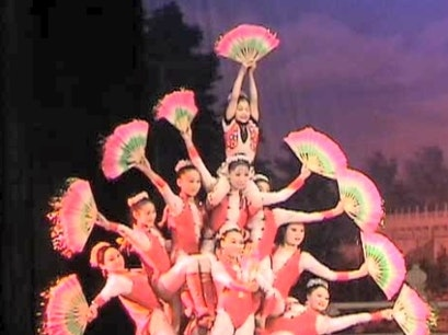 Incredible Acrobats of China, Huxi Theater Shanghai  China