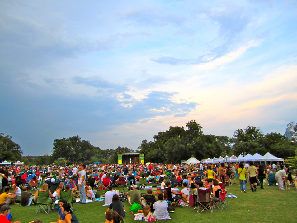 Blues on the Green: Live Music for Summer Austin Texas United States