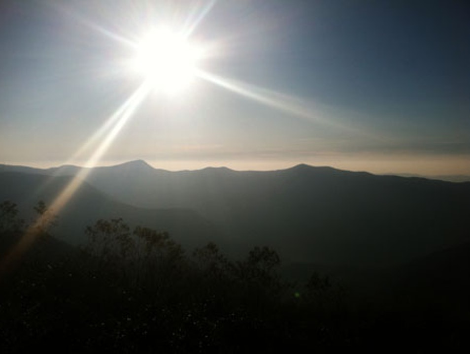 Mountain Morning  Lowgap North Carolina United States
