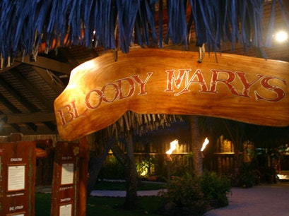 Bloody Mary's Restaurant Îles Sous Le Vent  French Polynesia