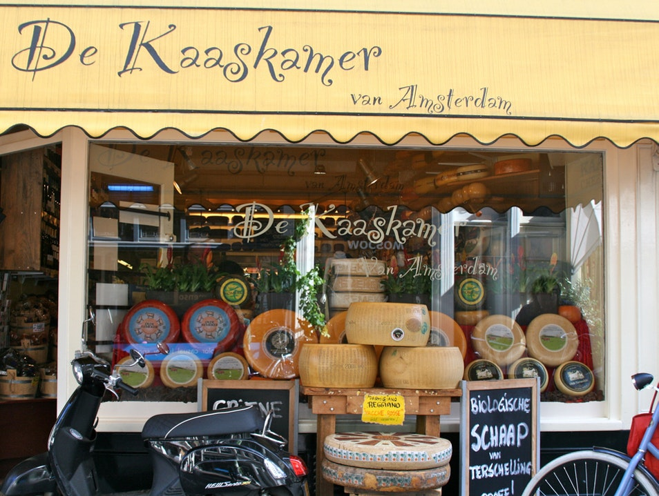 The Best Amsterdam Cheese at De Kaaskamer Cheese Shop Amsterdam  The Netherlands