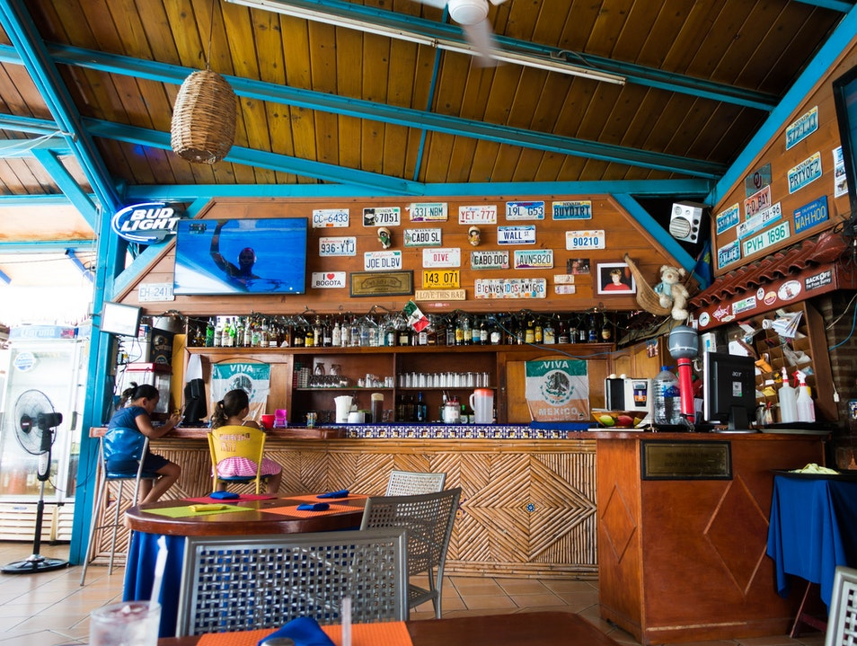 Awesome food at great prices at JP's Trailer Park Restaurant Cabo San Lucas  Mexico