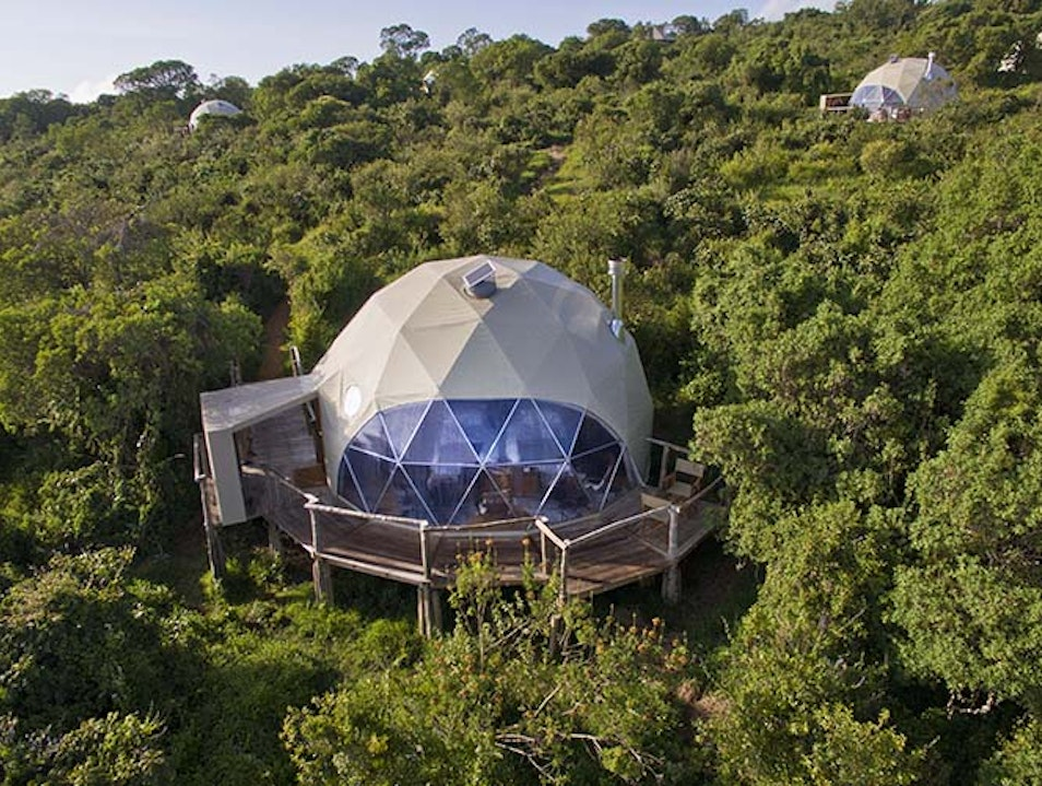 Stay in a glass dome at the Ngorongoro Crater