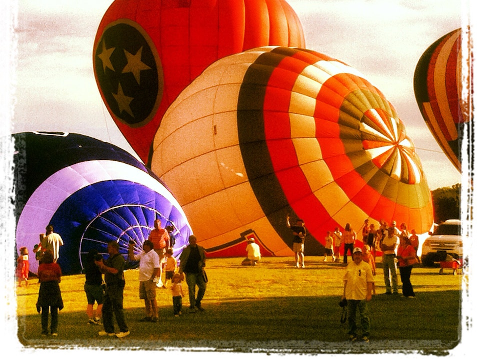 Hot Air Balloon Festival Decatur Alabama United States
