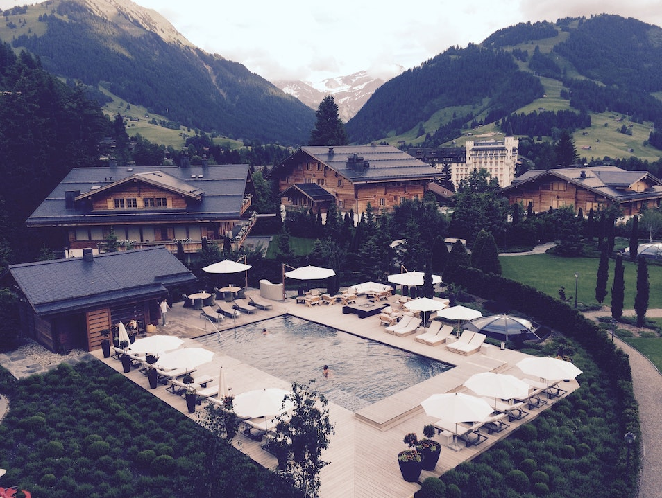 A Silent Retreat for the Rich and Famous Gstaad  Switzerland