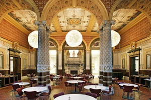 The Main Cafe at the V&A Museum