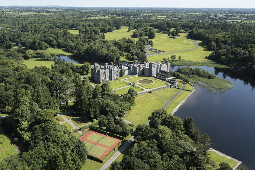 Sprawling Ashford Castle lets the young and young at heart live out their dreams.