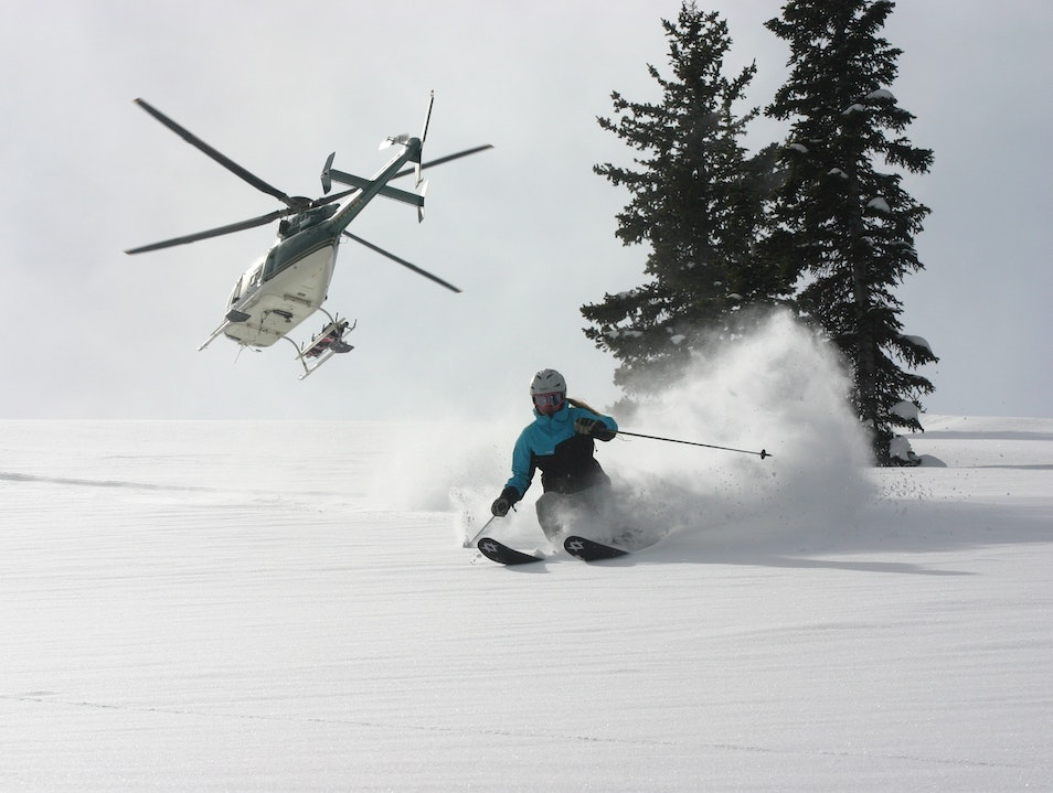 Off Your Bucket List: Heli-Ski From Your Door Teton Idaho United States