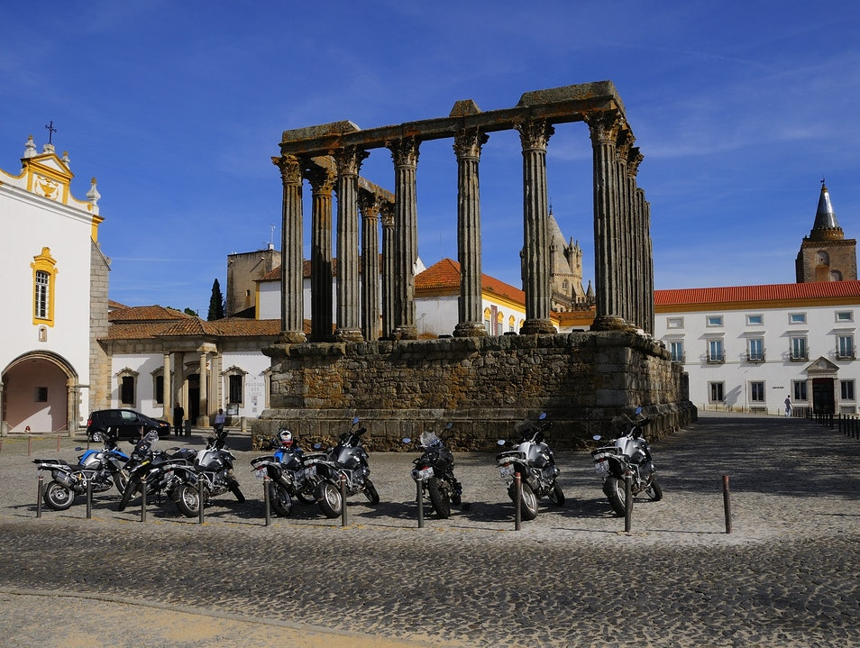 Fun Alentejo Motorcycle Tour Evora  Portugal