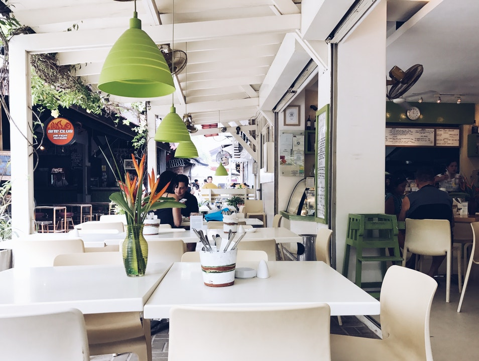 Best Healthy Lunch Spot in Boracay Malay  Philippines