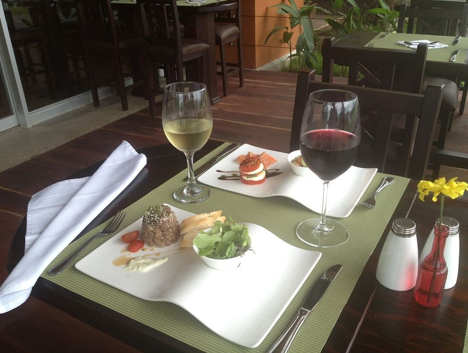 Great Flavors and Great Wine Huacas  Costa Rica