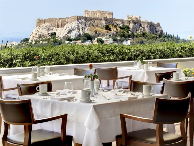 The most romantic hotel in Athens