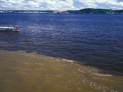 Meeting of the Waters Manaus  Brazil