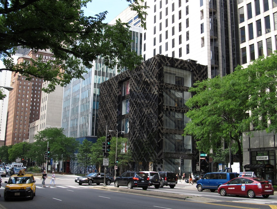 Shopping Chicago's Magnificent Mile