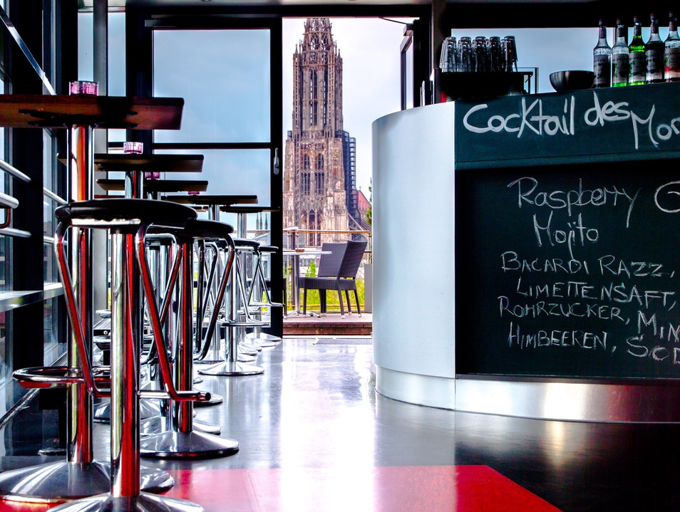 Soak in the City with a Cocktail from Above