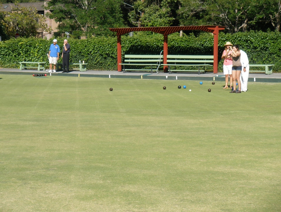 Bowling on the Green Palo Alto California United States