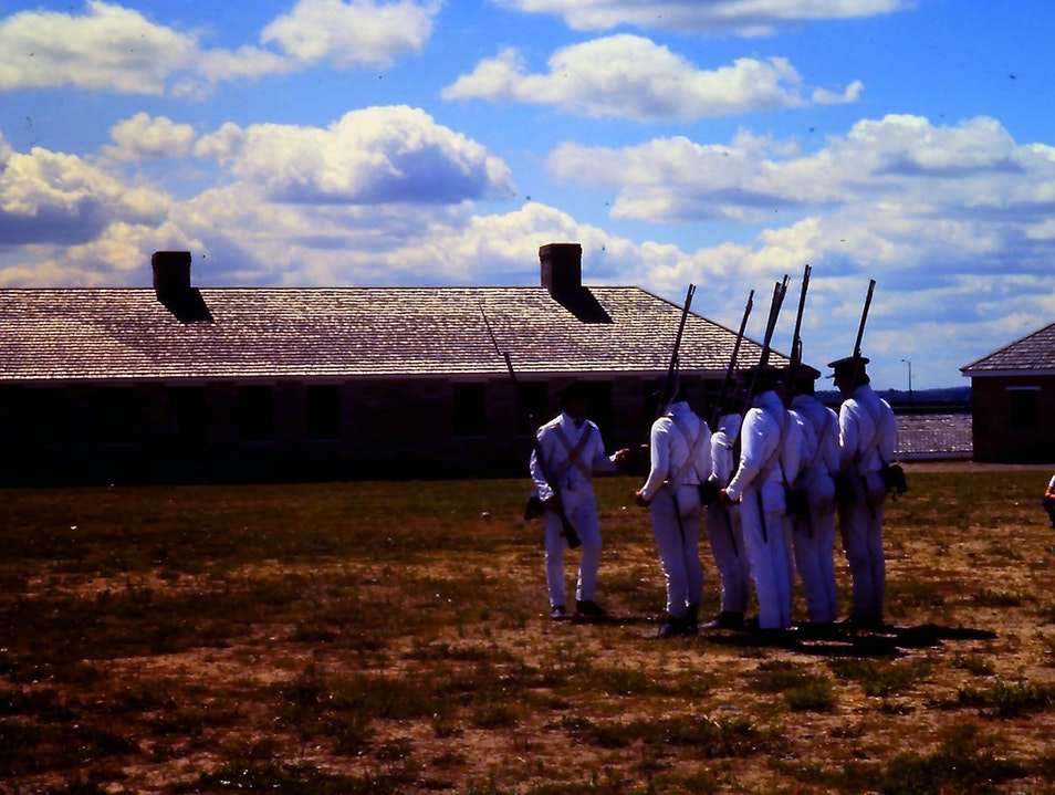 Layers of History at Fort Snelling Minneapolis Minnesota United States