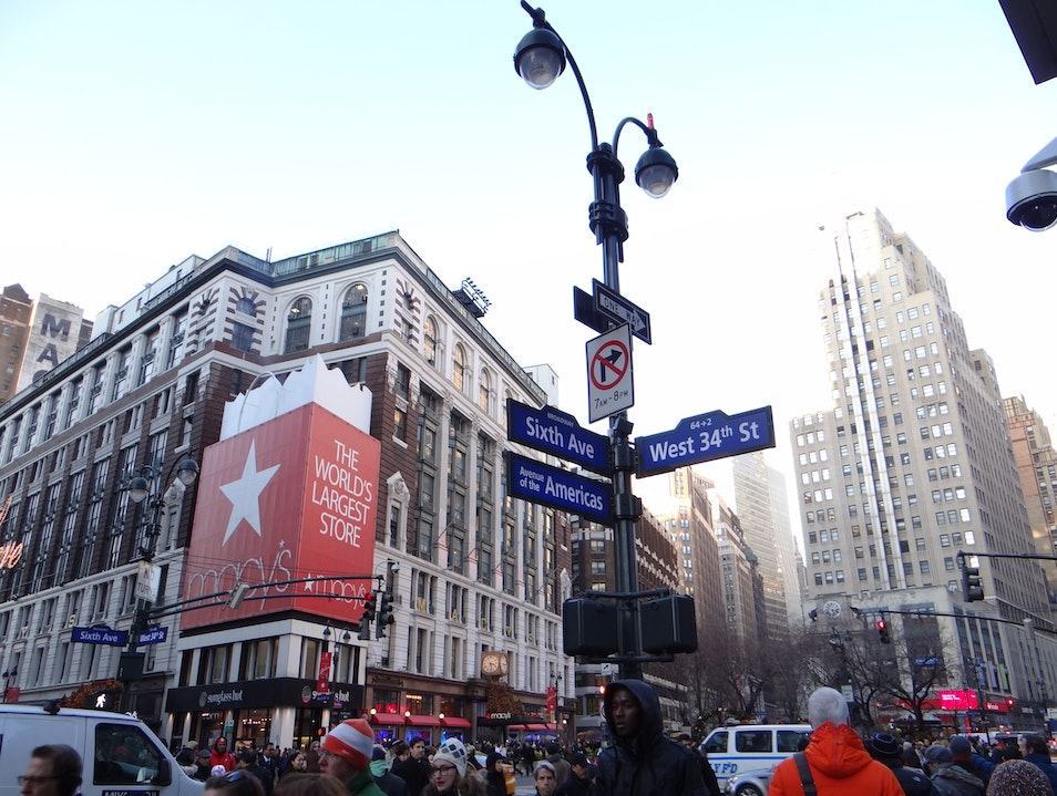 Where to Shop in Herald Square New York New York United States