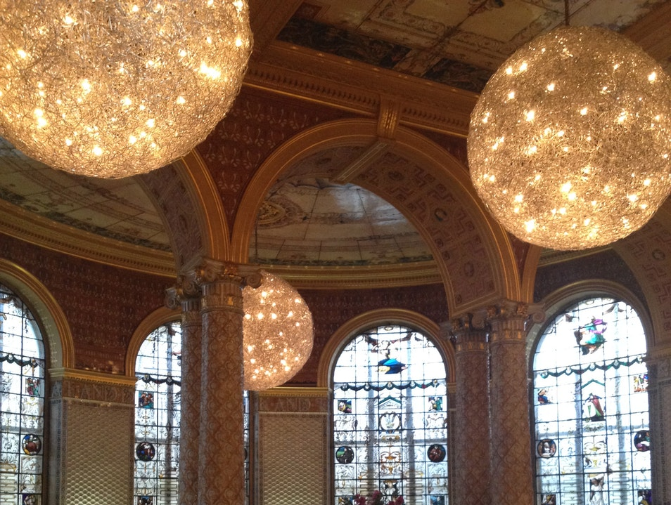 The Main Café at the V&A Museum London  United Kingdom