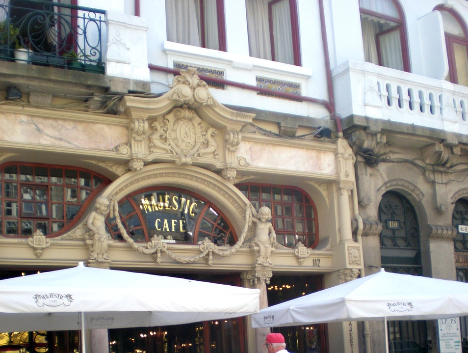 The Elegant Cafe Majestic Porto  Portugal