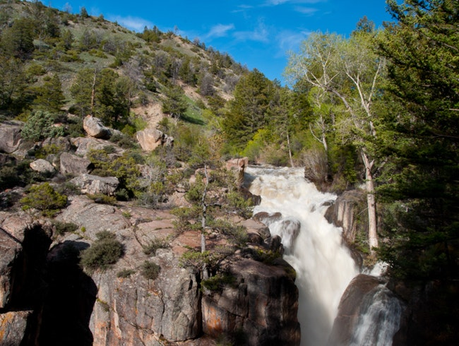 For a Look at Shell Falls