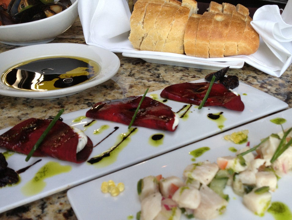 Beet Carpaccio at Modis Breckenridge