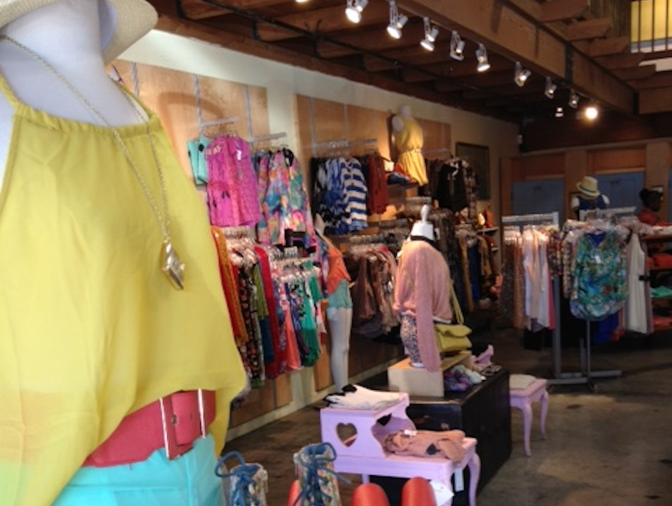 Colorful stores and people on Telegraph  Berkeley California United States