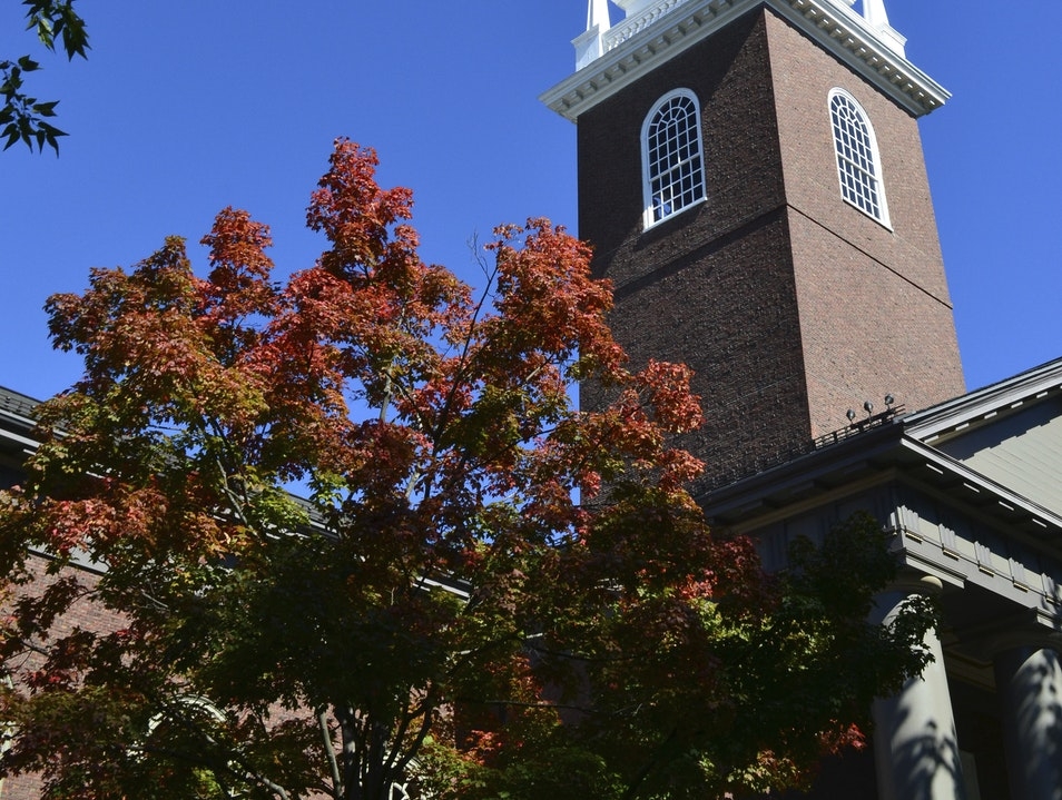 Visit Harvard-America's Oldest University