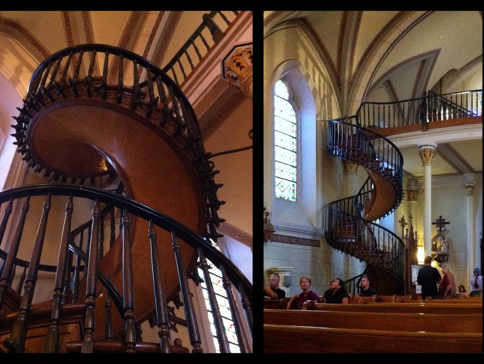 "A helix of belief and physics: the ""miraculous"" staircase in Santa Fe"