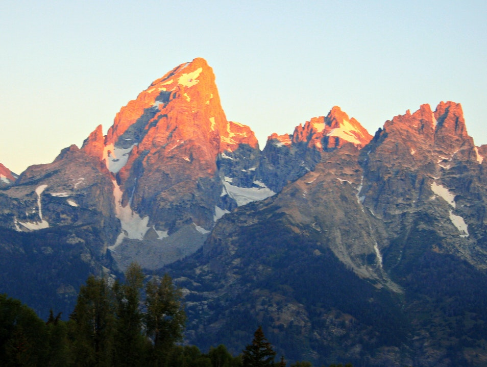 A Teton-ic sunrise