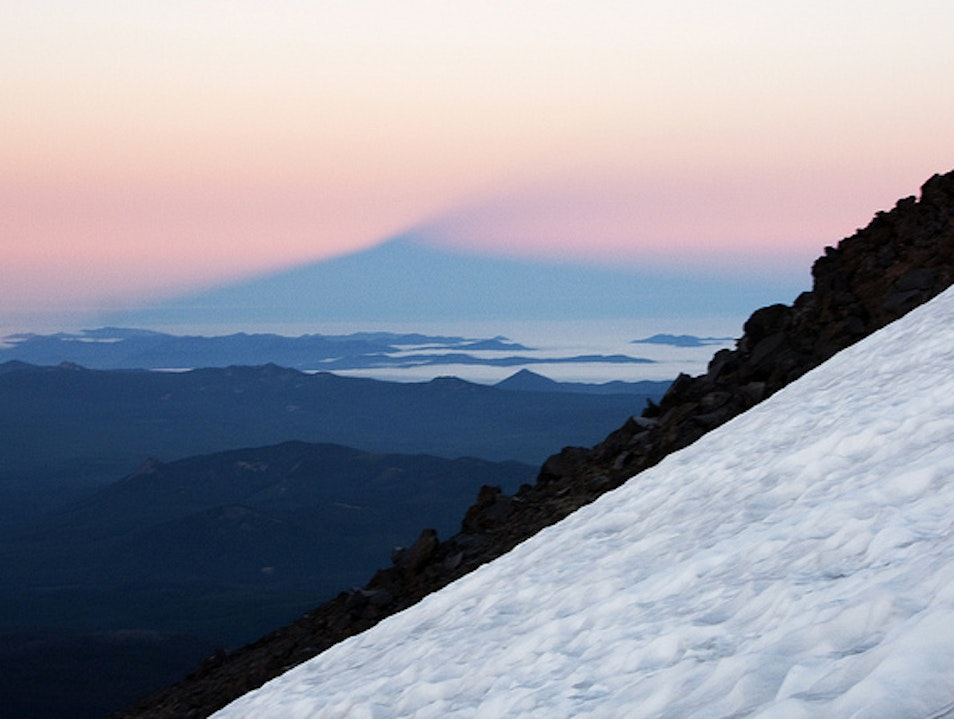 Climbing Mt Adams Yakima Washington United States